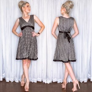 Houndstooth Cocktail Party Dress